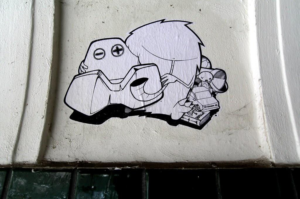 Street Art Hamburg Slurg
