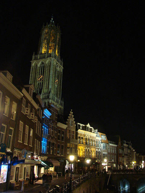 Domtoren at Night