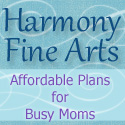 Harmony Fine Arts blog button