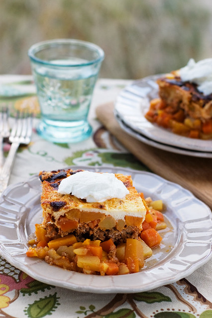 veggie-rich moussaka