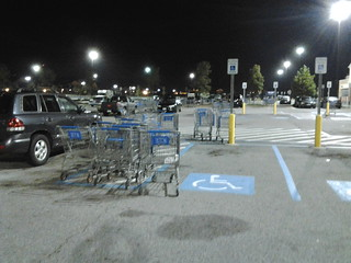 An intetesting commentary on handicap parking spaces