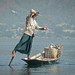 The balance of the fisherman - Shan State, Myanmar (Burma) by Luj Moarf
