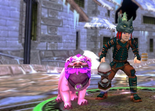 Eric Howton & Foo Dog Wizard 101