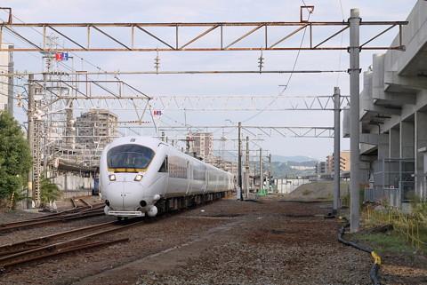 大分駅の高架化工事