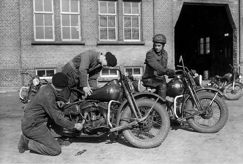 Harley Davidson WLCs, Amersfoort 1949