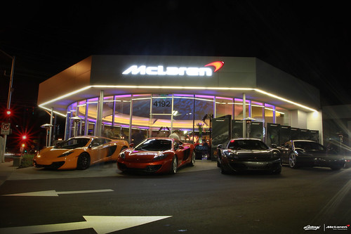 McLaren San Francisco Dealership