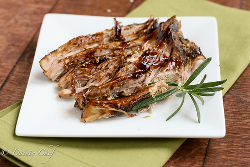 Brown Sugar & Balsamic Glazed Pork