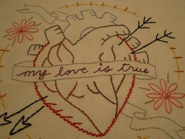 My Love is True - Close