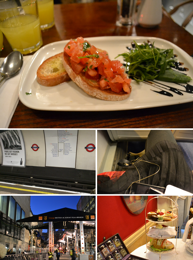 daisybutter - UK Style Blog: week in photos, baftas, london, afternoon tea