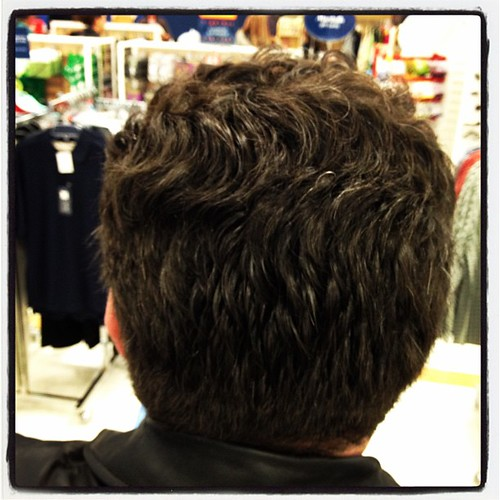 Joe's hair shopping #febphotoaday  #makesmehappy