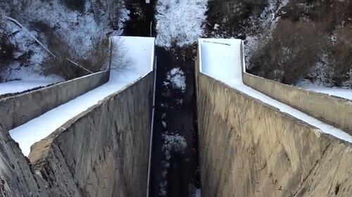 43% Frío, nieve y embalses congelados en Segovia