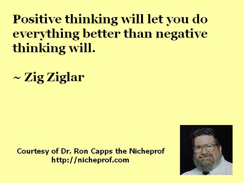 Zig Ziglar on Positive Thinking