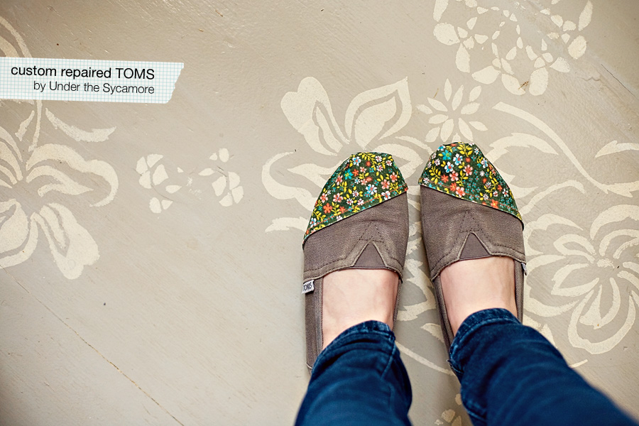 How To Repair Your Toms Shoes