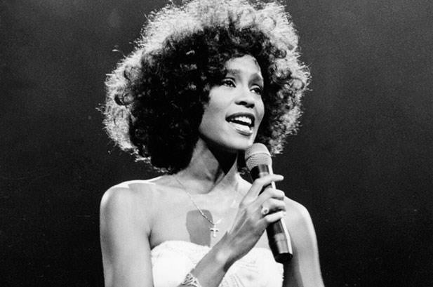 Whitney Houston, one of the greatest singers of all time.