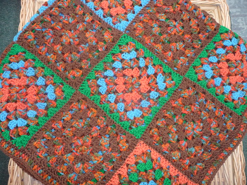 Sarah (RAV) (UK) Has very kindly made and donated this beautiful Blanket! So kind of you thank you very much!