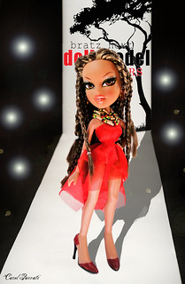 """Bratz Next Doll Model"" C.8 All-Stars- FINALE CHALLENGES: THEME 4- Runway from Africa - Danielle"