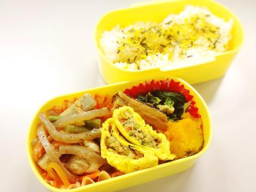 今日のお弁当 No.273 – 海苔たまご