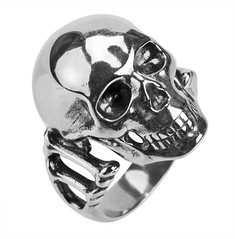 body jewelry, ring, metal, silver, skull,