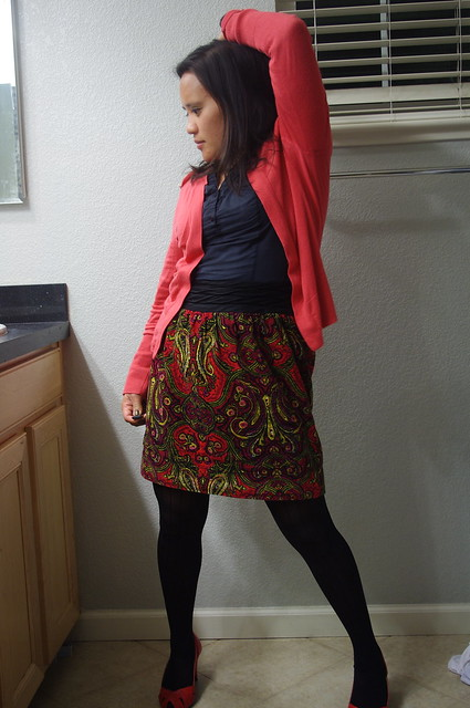 OOTD: Red and Pink
