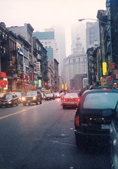 lower Manhattan,  mid 1990's