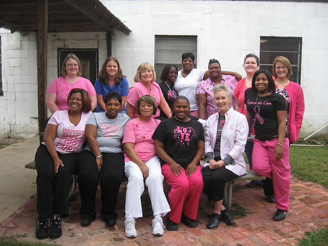 Tutwiler Prison raises funds for Breast Cancer Awareness