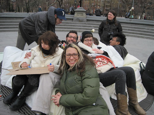 Washington Square Park Bed-In