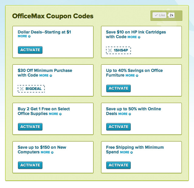 Officemax Coupons And Codes Flickr Photo Sharing