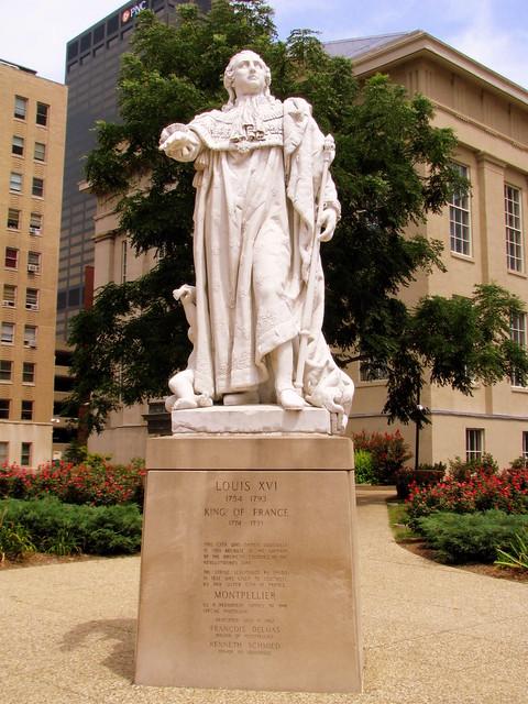 King Louis XVI statue - Louisville, KY
