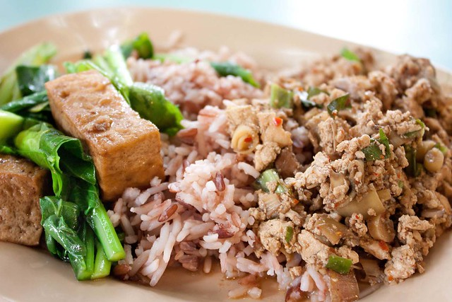 Thai Vegan Larb with Rice