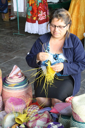 IMG_7018 Basket weaver at Bautista   <a href=