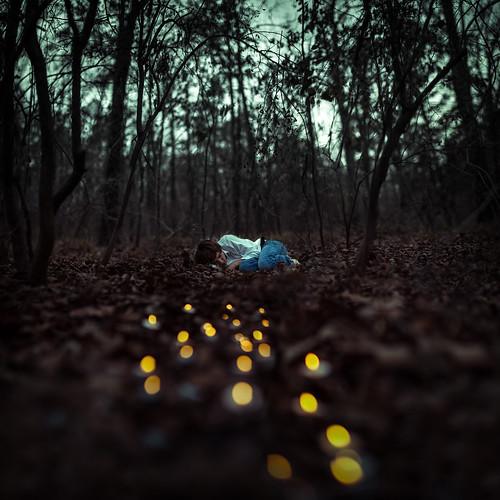 [フリー画像素材] 人物, 人物 - 森林, 寝顔・寝姿 ID:201203010400