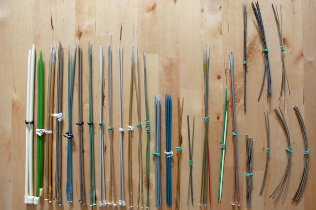 colecção de agulhas
