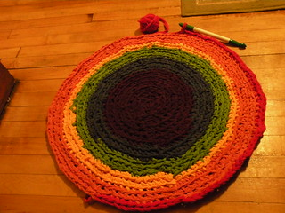 Re-working the Rag Rug.