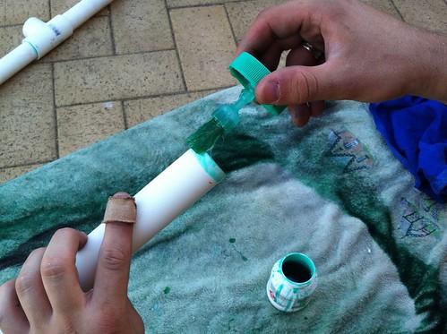 Apply PVC Cement