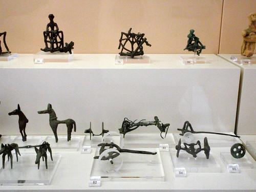 Bronze chariot(eers)