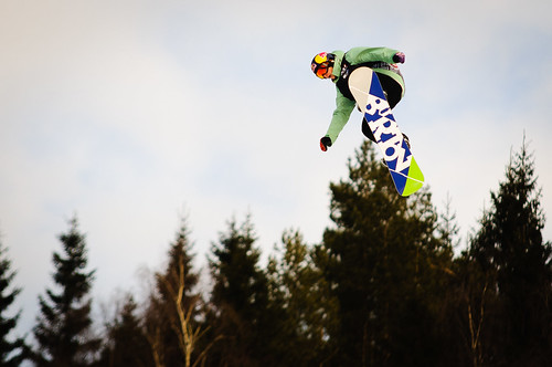 Bronsevinneren, Belgiske Seppe Smiths under Slopestylefinalen i Wyllerløypa under Snowboard VM 2012