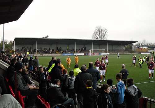 Ochilview Park, Stenhousemuir, Away Supporters Enclosure