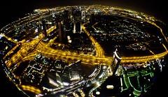 Night View from Burj Khalifa 2