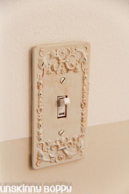 pretty light switch cover