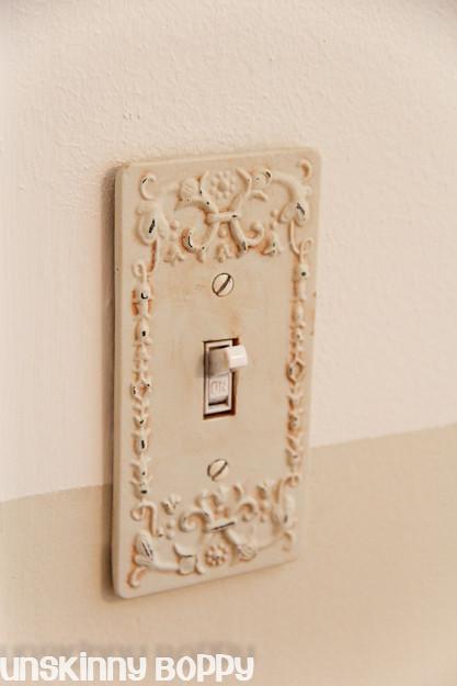 pretty light switch cover