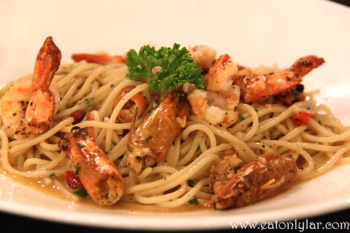 Chilli Prawn Pasta, The Bee