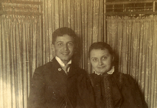 Robert Heffron Murray and Louise Murray, circa 1894 by Shook Photos