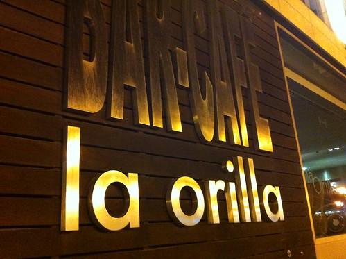 BAR CAFE La Orilla o estar en el otro lado.... by LaVisitaComunicacion
