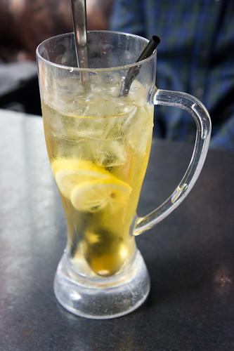 最終的Boss 是這個檸檬綠茶!
