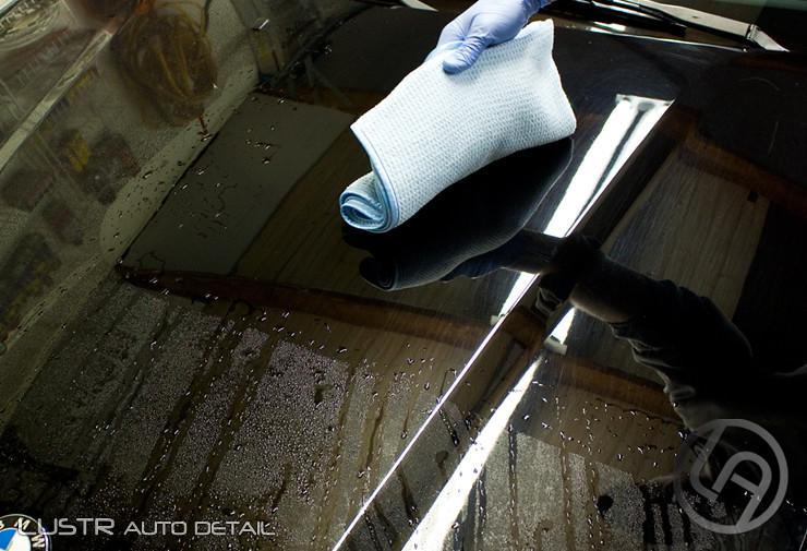 DI Microfiber Waffle Weave Drying Towel
