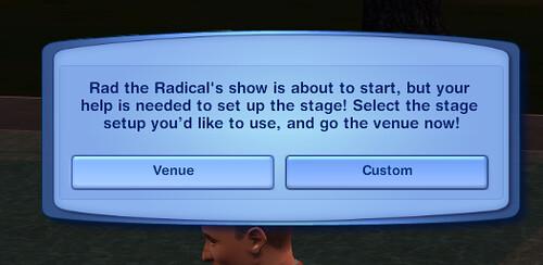 Prepare friends stage