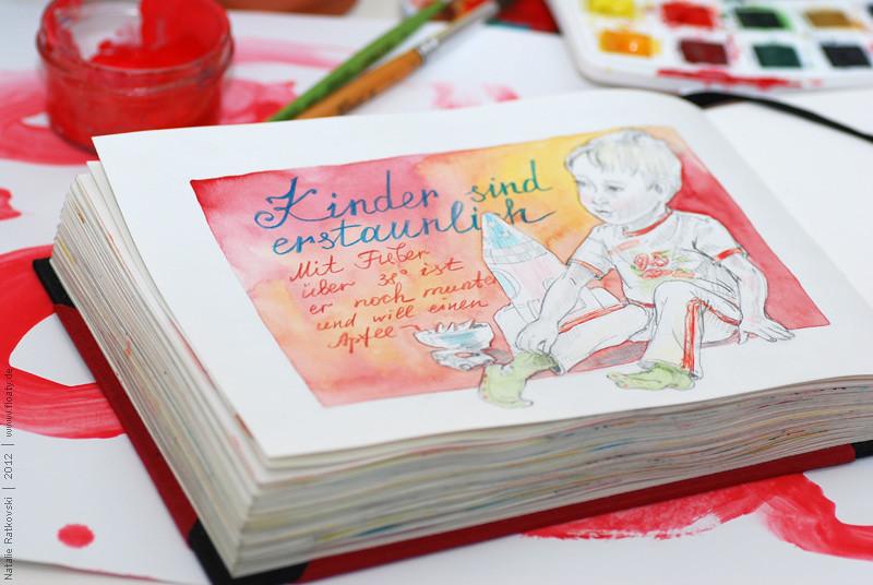 My 365 sketchbook