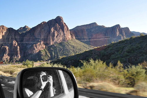 scenic drive through the AZ hills