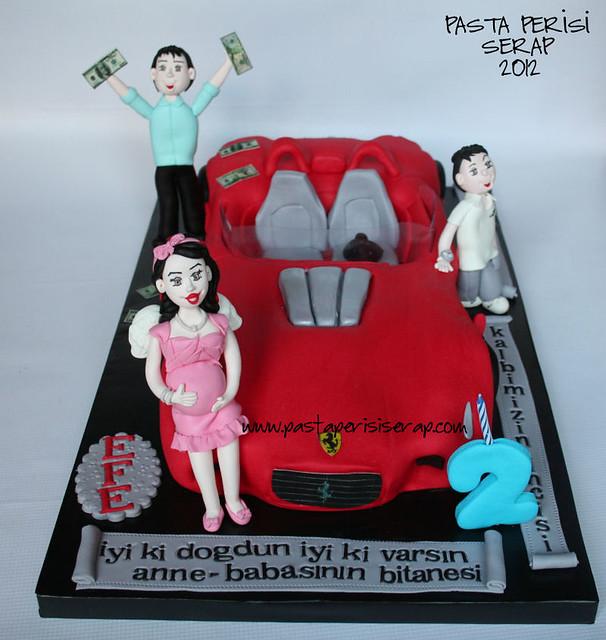 FERRARİ CAKE - EFE BIRTHDAY CAKE