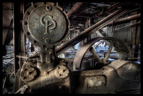 CP Machine From Abandoned Coal Sifting Plant by AndrewJohn2011